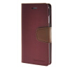 MOONCASE чехол для iPhone 6 Plus (5.5) PU Leather Flip Wallet Card Slot Stand Back Cover Red mooncase чехол для iphone 6 plus 5 5 pu leather flip wallet card slot stand back cover coffee