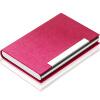 Превосходный (UHOO) держатель визитной карточки 6606 розовый красный кожа костей 1 / коробка большой емкости