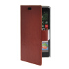 MOONCASE Slim Leather Side Flip Wallet Card Slot Pouch Stand Shell Back ЧЕХОЛДЛЯ Nokia Lumia 830 Brown mooncase business style leather side flip wallet card slot pouch stand back чехол для nokia lumia 630 red