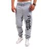Zogaa новые мужские брюки временных спортивных письмо печать владимир рышков херъ триллер временныхлет