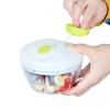 Соединенные Штаты удержания многофункциональных овощных блюд домашняя ручная отвертка мини-дробилка чеснок чеснок 500 мл