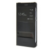 MOONCASE Slim Leather Side Flip Bracket Window чехол для Cover Huawei Honor 7 чёрный чехол для сотового телефона honor 5x smart cover grey