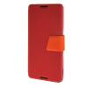 MOONCASE Xperia Z4 , Leather Flip Bracket Back ЧЕХОЛ ДЛЯ Sony Xperia Z4 Red Orange чехол для sony xperia z4 compact deppa air case red