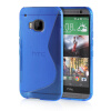 MOONCASE S - Line Soft Flexible Silicone Gel TPU Skin Shell Back ЧЕХОЛ ДЛЯ HTC One M9 Blue cute popcorn pattern tpu back case for htc one mini m4 601e blue pink
