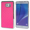 MOONCASE Samsung Galaxy Note 5 ЧЕХОЛ ДЛЯ Bling Chrome Hard Back Pink mooncase hard chrome plated star bling back чехол для samsung galaxy a7 white