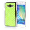 MOONCASE Hard Chrome Plated Star Bling Back ЧЕХОЛ ДЛЯ Samsung Galaxy A3 Green mooncase hard chrome plated star bling back чехол для huawei ascend y550 green