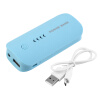 5600mAh Портативный USB Внешнее зарядное устройство Power Bank для мобильного телефона синий зарядное устройство 5600mah usb powerbank f 5600mah