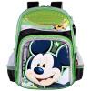 Дисней (Disney) Микки детские школьные сумки милый мультфильм сумка рюкзак школьный MB8219D- зеленый дисней disney принцесса мультфильм рюкзак школьный 1 2 grade розовый школьный портфель db96133c