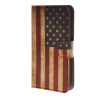 MOONCASE U.S American Flag Leather Wallet Flip Card Slot Stand Pouch чехол для HTC Desire 620 A09 htc desire 650