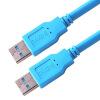 наушники westone am pro10 clear Shanze (SAMZHE) AA-815 USB2.0 линия данных хорошо известной AM / AM ноутбук кулер двойной линии передачи данных кабель съемный диск картридж Clear Blue 1,5 м