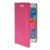 MOONCASE Slim Leather Flip Wallet Card Pouch with Kickstand Shell Back ЧЕХОЛДЛЯ Samsung Galaxy S5 I9600 Hot pink mooncase slim leather flip wallet card pouch with kickstand shell back чехолдля samsung galaxy s5 i9600 purple