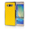 MOONCASE Hard Chrome Plated Star Bling Back ЧЕХОЛ ДЛЯ Samsung Galaxy A7 Yellow mooncase litchi skin золото chrome hard back чехол для cover lg g4 золото