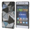 MOONCASE Personality style Hard Rubber Shell Back чехол для Cover Huawei Ascend P8 Lite грей ecostyle shell чехол флип для huawei ascend d2 black