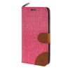 MOONCASE Galaxy S6 Edge , Leather Wallet Flip Card Holder Pouch Stand Back ЧЕХОЛ ДЛЯ Samsung Galaxy S6 Edge Hot pink galaxy s6 edge дисплей