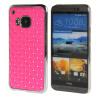 MOONCASE HTC One М9 Футляр Роскошные Chrome горный хрусталь Bling Звезда Вернуться Дело Чехол для HTC One M9 розовый htc htc one a9s 32gb