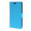 MOONCASE Vivid colors Leather Wallet Card Slot Bracket Back чехол для HTC Desire 320 D320 Blue htc desire 650