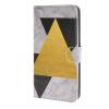 MOONCASE Треугольник стиль Кожа боковой паз флип Бумажник карты Стенд Чехол чехол для Microsoft Lumia 640 XL / A15 highscreen чехол флип для fest xl xl pro black