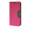 MOONCASE Fashion Leather Side Flip Wallet Card Holder Stand Pouch ЧЕХОЛДЛЯ Samsung Galaxy S6 Edge Hot pink mooncase samsung galaxy s6 edge plus чехолдля hard plastic design flip pouch brown