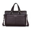 p.kuone ® мужчины портфель натуральной кожи бизнес кожаный портфель плечо сумку 14 ноутбук сумки мужчин Messenger дорожные сумки портфель samsonite портфель sygnum
