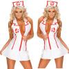 дамы костюм медсестры костюм сексуально белье танк платье набор V шею сумка nano de la rosa nano de la rosa na003bwvhh86