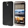 MOONCASE S - линия Мягкий силиконовый гель ТПУ защитный чехол гибкой оболочки Защитный чехол для HTC One E9 + E9 Plus Черный