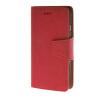 Фото MOONCASE фланель Стиль Слот карты Кожаный чехол Чехол Подставка Shell B чехол для Apple IPhone 6 (4,7 дюйма) Красный чехол