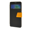 MOONCASE View window Leather Wallet Flip Stand Pouch чехол для Samsung Galaxy A7 Black roar korea noble leather stand view window case for iphone 7 4 7 inch orange