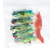 Слишком приманки рыболовные приманки мягкая приманка приманки приманки рыбы приманки рыболовные снасти привести пять загружены TY1012 черный назад белый живот