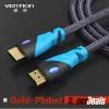 предупреждение, HDMI - кабель HDMI - позолоченные 1.4v 1080p 3D для PS3 Xbox appletv HDTV компьютерных кабелей 31 век ps nc401
