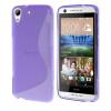 MOONCASE S - линия Мягкий силиконовый гель ТПУ защитный чехол гибкой оболочки Защитный чехол для HTC Desire 626 Фиолетовый