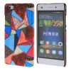 MOONCASE Personality style Hard Rubber Shell Back чехол для Cover Huawei Ascend P8 Lite красный mooncase wooden style hard rubber shell back чехол для cover huawei ascend p8 lite beige