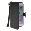 MOONCASE Litch Skin Leather Side Flip Wallet Card Slot Pouch Stand Shell Back ЧЕХОЛДЛЯ Apple iPhone 6 ( 4.7 inch ) Black mooncase litch skin leather side flip wallet card slot pouch stand shell back чехолдля apple iphone 6 4 7 inch brown