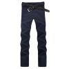 zogaa корейского мужские брюки случайные слим моды чистого хлопка прямо