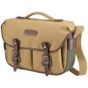 Billingham Hadley Pro Classic Unisex One-Shoulder Camera Bag One Camera Two Mirrors Flash (Kitney Grey Green Bag / Chocolate Leather Nylon) nylon one shoulder bag black