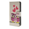 MOONCASE Owl style Leather Side Flip Wallet Card Slot Stand Pouch чехол для Sony Xperia Z4 Compact (Mini) a15 2017 purse owl se cute wallets for children lovely coin purses for women mini bags for girls trinket small pouch wallet card zip