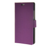 MOONCASE Simple Leather Flip Wallet Card Slot Stand Back чехол для Huawei Ascend P8 Purple mooncase чехол для huawei ascend p8 wallet card slot with kickstand flip leather back white