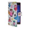 MOONCASE Pattern Style Leather Side Flip Wallet Card Slot Pouch Stand Shell Back ЧЕХОЛДЛЯ Sony Xperia Z2 комплектующие и запчасти для ноутбуков sony tablet z2 sgp511 512 541 z1