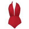 Новый сексуальный красный повод талии Купальник бикини женский купальник бикини купальник женский