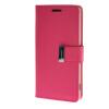 MOONCASE чехол для Sony Xperia Z3 Flip Leather Wallet Card Slot Bracket Back Cover Hot pink mooncase чехол для sony xperia t3 flip leather wallet card slot bracket back cover yellow