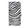 MOONCASE Zebra style Leather Side Flip Wallet Card Slot Stand Pouch ЧЕХОЛДЛЯ Samsung Galaxy S6 Edge mooncase samsung galaxy s6 edge plus чехолдля hard plastic design flip pouch brown