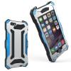 r-just водонепроницаемый shockproof dustproof snowproof металлический бампер закаленное стекло, дело чехол для iPhone 6 6s плюс чехол для iphone 6 itskins toxik r