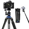 цена на Benro (Benro) Штатив it25 Canon Nikon SLR камеры штатив легких путешествий SLR камера штатив голова