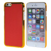 MOONCASE Litchi Skin золото Chrome Hard Back чехол для Cover Apple iPhone 6 Plus (5.5) красный