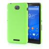 все цены на MOONCASE Hard Rubberized Rubber Coating Devise Back ЧЕХОЛДЛЯ Sony Xperia E4 Green онлайн