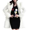 CT&HF Женщины Чистый Цвет Шерстяной пальто контракту нагрудные Сельма Пальто Темперамент Элегантный сгущает пальто Сладкая пальто huppa пальто yasmine