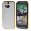 MOONCASE Flash Flake Skin золото Chrome Hard Back чехол для Cover HTC One M8 серебро mooncase litchi skin золото chrome hard back чехол для cover lg g4 золото