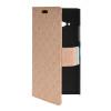MOONCASE Slim Leather Side Flip Wallet Card Slot Pouch with Kickstand Shell Back чехол для Nokia Lumia 730 Beige синий slim robot armor kickstand ударопрочный жесткий корпус из прочной резины для vivo x9plus