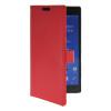 MOONCASE тонкий кожаный бумажник флип сторона держателя карты Чехол с Kickstand чехол для Sony Xperia T2 Ультра красный