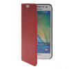 MOONCASE Slim Leather Side Flip Wallet Card Slot Pouch with Kickstand Shell Back чехол для Samsung Galaxy A3 Red mooncase business style leather side flip wallet card slot pouch stand back чехол для samsung galaxy a3 red