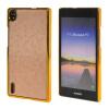 MOONCASE Huawei Р7 Дело Золото Chrome Шкала фильмы стиль Твердый переплет чехол для Huawei Ascend P7 Золото золото